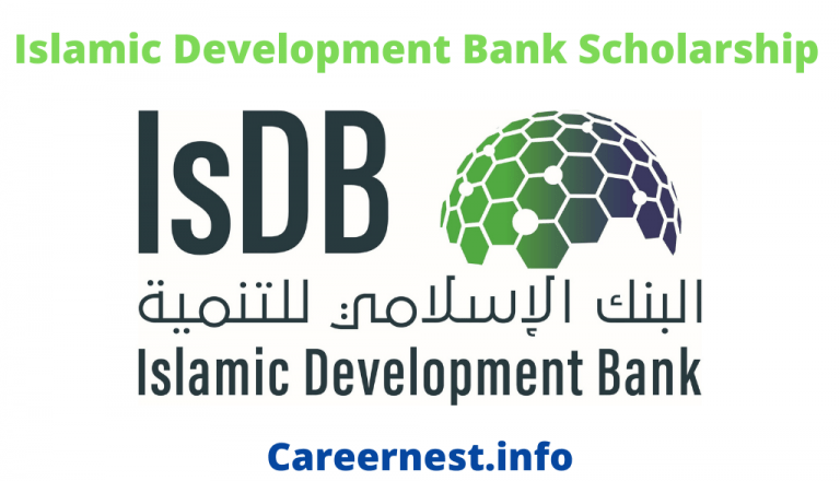 Islamic Development Bank Fully Funded Scholarship 2021