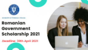 Romanian Government Scholarship 2021