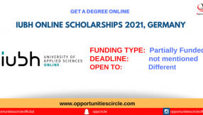 IUBH University of Applied Sciences Online Scholarship Germany 2021