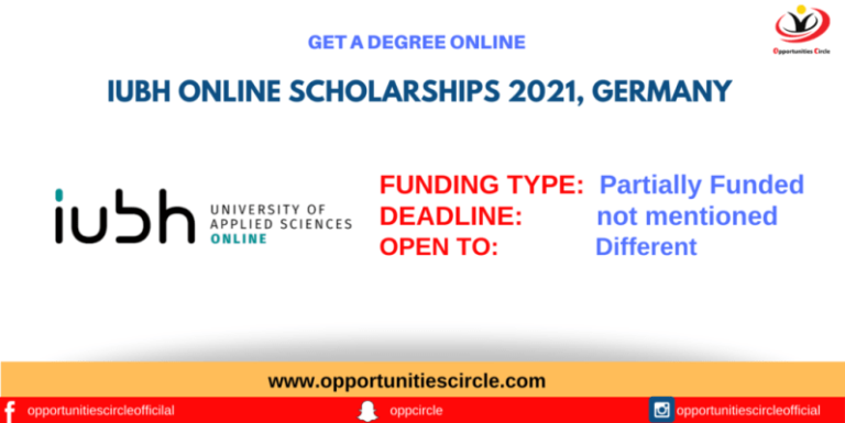 Read more about the article IUBH University of Applied Sciences Online Scholarship Germany 2021