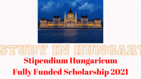 Hungary Fully Funded Scholarships 2021