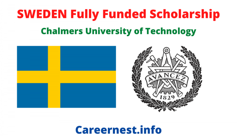 Scholarships in Sweden | Chalmers University of Technology 2021