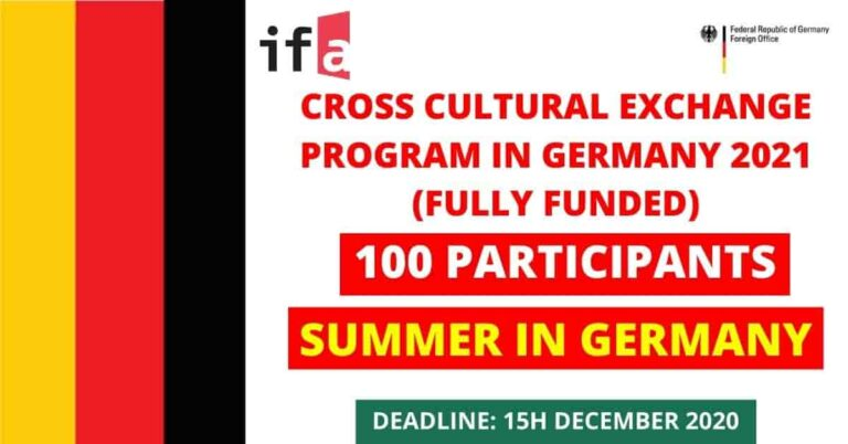 CrossCulture Program 2021 Germany | Fully Funded