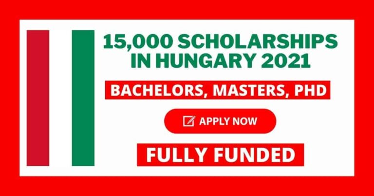 Read more about the article 15,000 Scholarships in Hungary 2021 | Fully Funded