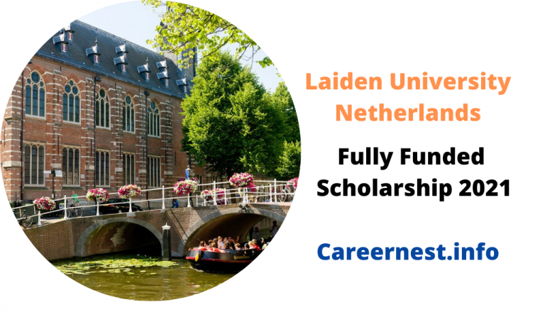 Fully Funded Scholarship in Netherlands 2021