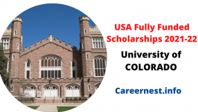 University of Colorado USA Scholarships for International Students 2021