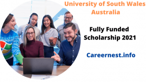 International Scholarships at University of South Wales, Australia 2021
