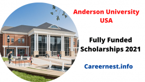 Scholarship at Anderson University in the USA