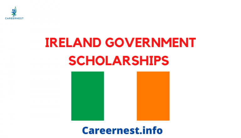 Ireland Government Fully Funded Scholarships 2021