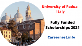International Scholarships at University of Padua in Italy