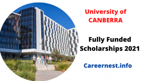 University Of Canberra International Merit Scholarships Australia
