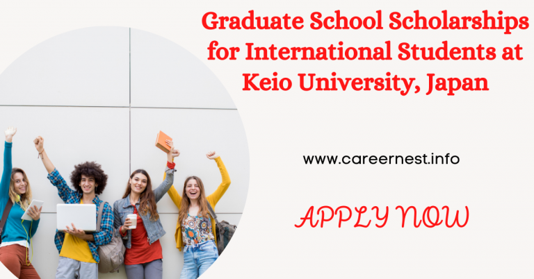 Read more about the article Graduate School Scholarships for International Students at Keio University, Japan