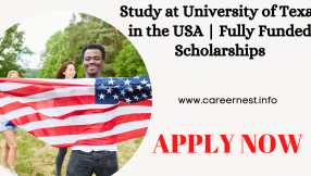 Study at University of Texas in the USA | Fully Funded Scholarships