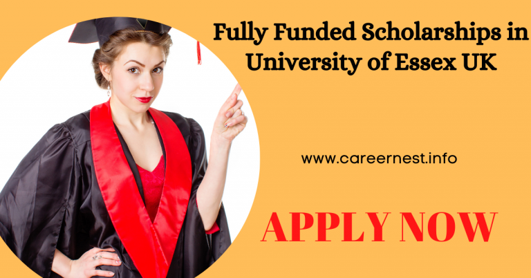 Read more about the article Fully Funded Scholarships in University of Essex UK