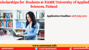Scholarships for Students at KAMK University of Applied Sciences, Finland