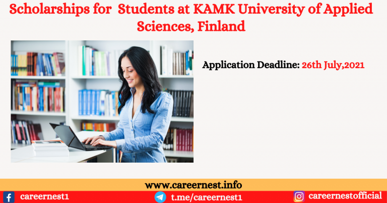 Read more about the article Scholarships for Students at KAMK University of Applied Sciences, Finland