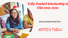 Fully Funded Scholarship in USA 2021-2022
