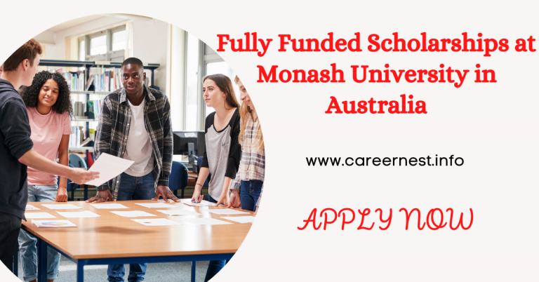 Read more about the article Fully Funded Scholarships at Monash University in Australia