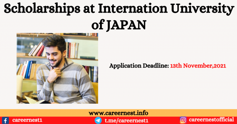Read more about the article International Scholarships at International University of Japan