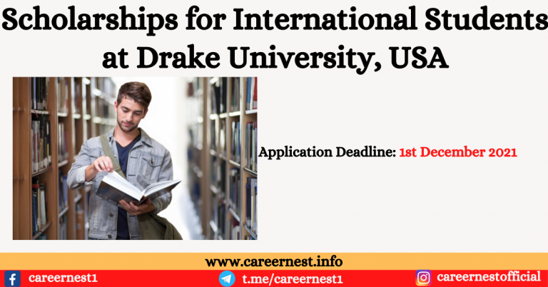 Read more about the article Scholarships for International Students at Drake University, USA
