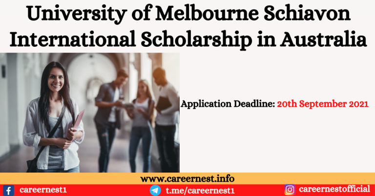 Read more about the article University of Melbourne Schiavon International Scholarship in Australia