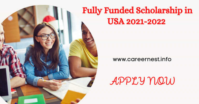 Read more about the article Fully Funded Scholarship in USA 2021-2022
